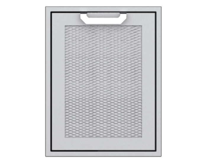 Hestan 20-Inch Trash and Recycle Center Storage Drawer HS-AGTRC20