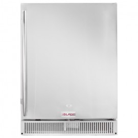 Blaze Outdoor Rated Stainless 24-Inch Refrigerator 5.2 Cu. Ft. - BLZ-SSRF-50DH
