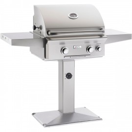 American Outdoor Grill L-Series 24-Inch Natural Gas Grill On Pedestal