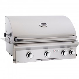 American Outdoor Grill L-Series 30-Inch Built-In Natural Gas Grill With Rotisserie