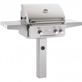 American Outdoor Grill T-Series 24-Inch Natural Gas Grill On In-Ground Post