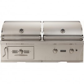 Coyote Centaur 50-Inch Natural Gas And Charcoal Hybrid Built-In Grill