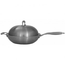 Coyote Stainless Steel Wok For Power Burners