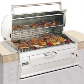 Fire Magic 24 Inch Legacy Built-In Charcoal Grill 12-S101C-A