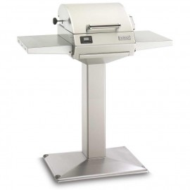 Fire Magic E250s Electric Grill On Patio Post