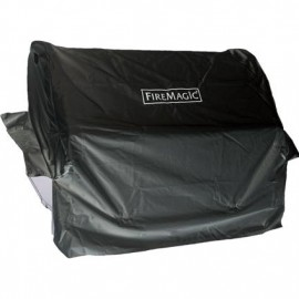 Fire Magic Grill Cover For Aurora A430/Choice C430 Built-In Gas Grill Or 24-Inch Built-In Charcoal Grill