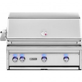 Lynx 36-Inch Built In Gas Grill With Trident ProSear Burner And Rotisserie