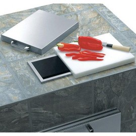 Lynx Ventana Countertop Trash Chute With Cutting Board And Cover L18TS