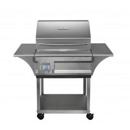 Memphis Grills Advantage 26-Inch Wood Pellet Grill On Cart - 430 SS Alloy