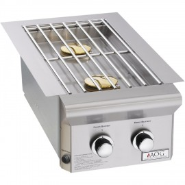 AOG American Outdoor Grill L-Series Built-In Double Side Burner