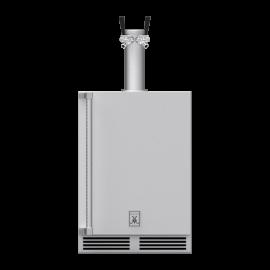 Hestan 24-Inch Double Faucet Beer Dispenser