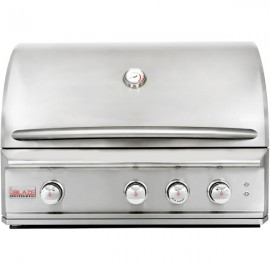 Blaze Professional 34-Inch 3-Burner Built-In Gas Grill With Rear Infrared Burner BLZ-3PRO