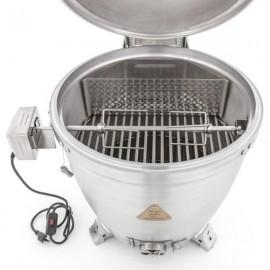 Blaze 20-Inch Kamado Rotisserie Kit with Charcoal Basket BLZ-KMDO-ROTIS