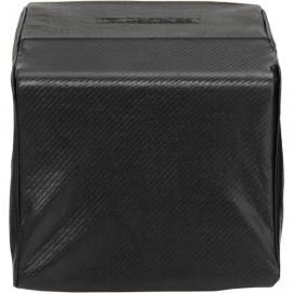 Lynx Carbon Fiber Vinyl Cover For Built-In Single Side Burner CCLSB1