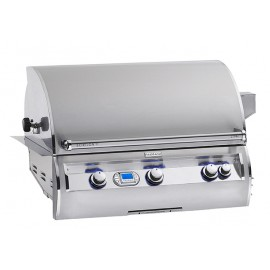 Fire Magic Echelon Diamond E790i A Series Propane Gas Built-In Grill Open View
