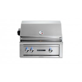 Sedona By Lynx 30-Inch Built-In Gas Grill With ProSear Burner And Rotisserie (1 Stainless Steel Burner, 1 ProSear Burner) L500PSR