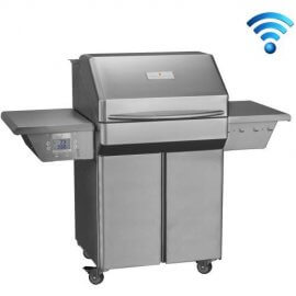 Memphis Grills Pro 28-Inch Pellet Grill On Cart with Wi-Fi