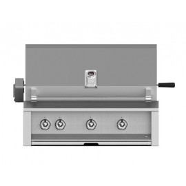 Aspire by Hestan 36-Inch Built-In Grill, (3) U-Burner With Rotisserie HS-EABR36
