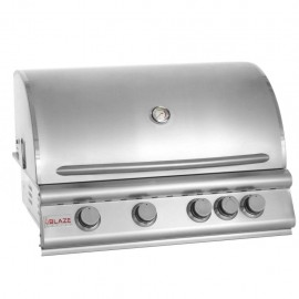 Blaze 32-Inch 4-Burner Gas Grill With Rear Burner BLZ-4