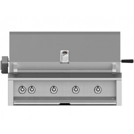 Aspire by Hestan 42-Inch Built-In Grill, (4) U-Burner With Rotisserie HS-EABR42