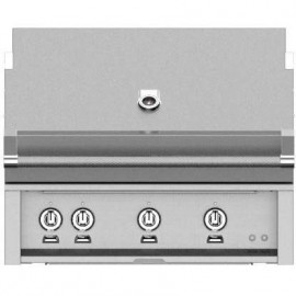 Hestan 36-Inch Built-In Grill, Trellis and Sear Burners with Rotisserie HS-GMBR36