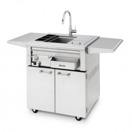 Lynx Professional 30-Inch Cocktail Station On Cart LCS30F