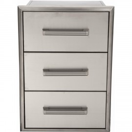 Coyote 18-Inch Triple Access Drawer C3DC