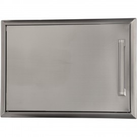 Coyote 22-Inch Left-Hinged Single Access Door - Horizontal CSA1420