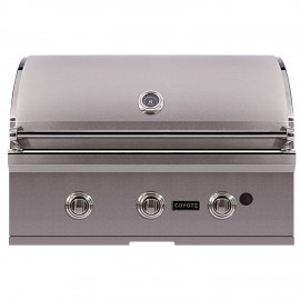 Coyote C-Series 34-Inch Built-In Grill 3-Burner C1C34