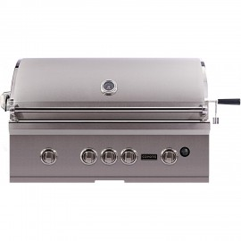 Coyote S-Series 36-Inch Built-In Gas Grill With LEDs C1SL36