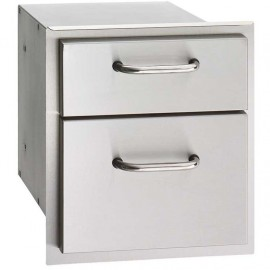 Fire Magic Select 14-Inch Double Access Drawer 33802