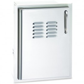 Fire Magic Select 14-Inch Single Access Door With Propane Tank Storage and Louvers 33820-TS