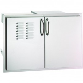 Fire Magic Select 30-Inch Double Access Door With Drawers And Propane Tank Storage 33930S-12T