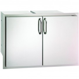 Fire Magic Select 30-Inch Enclosed Cabinet Storage With Drawers 33930S-22