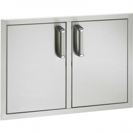 Fire Magic Premium Flush 30-Inch Double Doors With Trash Tray and Dual Drawers 53930SC-12