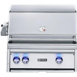 Lynx Professional 27-Inch Built-In Gas Grill With Rotisserie L27R-2