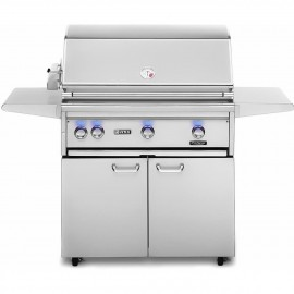 Lynx Professional 36-Inch Gas Grill On Cart With ProSear Burner And Rotisserie L36PSFR-2