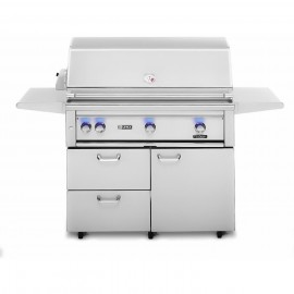 Lynx Professional 42-Inch All ProSear Gas Grill On Cart With Rotisserie L426ASFR
