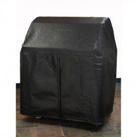Lynx Custom Grill Cover For 27-Inch Professional Gas Grill On Cart With Side Burners CC27FCB
