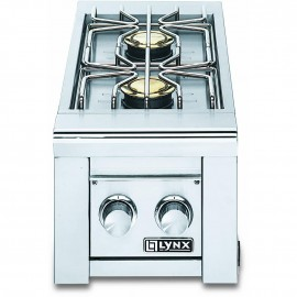 Lynx Professional Built-In Double Gas Side Burner LSB2-2