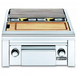 Lynx Professional Built-In Double Gas Side By Side Burner With Prep Center LSB2PC-1