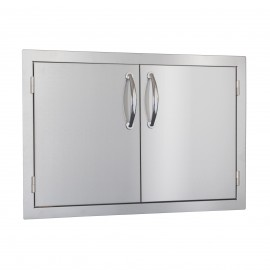 North American 30-Inch Stainless Steel Double Access Door SSDD-33