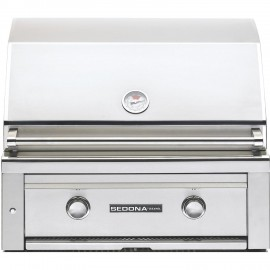 Sedona By Lynx 24-Inch Built-In Gas Grill With ProSear Burner (1 Stainless Steel Tube Burner, 1 ProSear Burner) L400PS