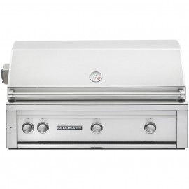 Sedona By Lynx 42-Inch Built-In Gas Grill With ProSear Burner And Rotisserie (2 Stainless Steel Tube Burners, 1 ProSear) L700PSR