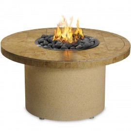 Sedona By Lynx 44-Inch Propane Ice 'N Fire Pit - Round (Sandalwood) LFPC-S