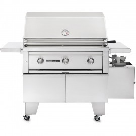 Sedona By Lynx ADA 36-Inch Natural Gas Grill On Cart With ProSear Burner And Rotisserie L600ADAR