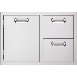 Sedona By Lynx 42-Inch Access Door & Double Drawer Combo