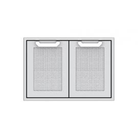 Hestan 30-Inch Double Access Doors HS-AGAD30