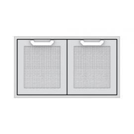 Hestan 36-Inch Double Access Doors HS-AGAD36