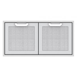 Hestan 42-Inch Double Access Doors HS-AGAD42